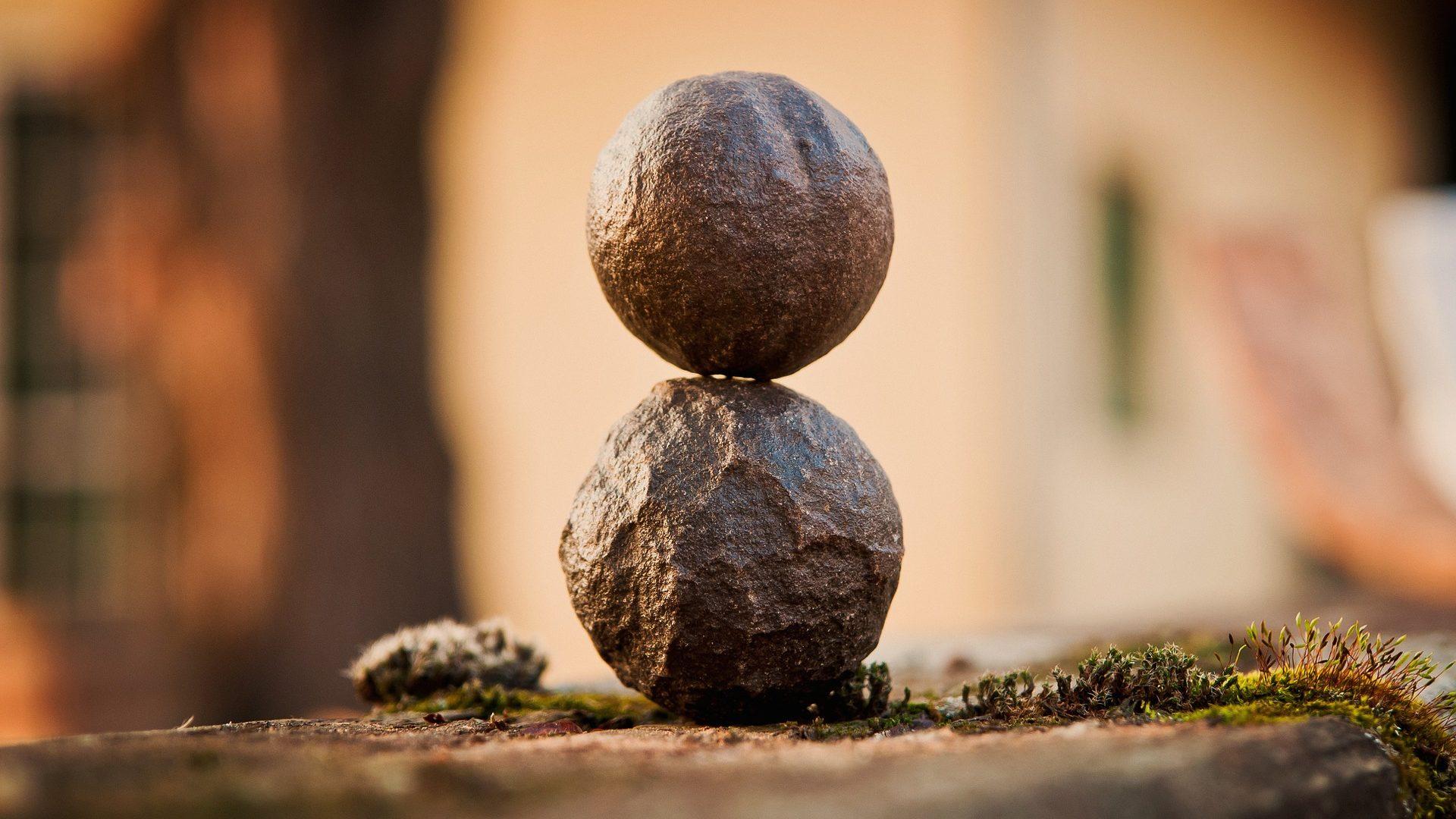 Bringe Dein Leben in Balance.