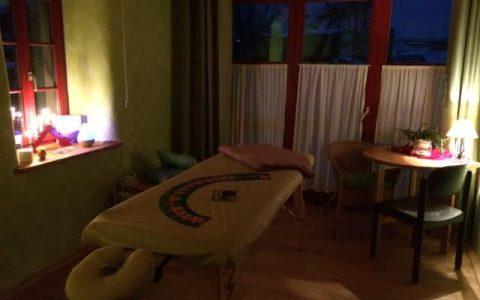 Neuer Massageraum erfüllt mein Herz
